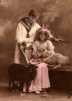 carte1913-mouton-ouessant