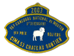 concours national mouton ouessant gemo 2003