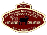 27e concours national mouton d'ouessant gemo 2015